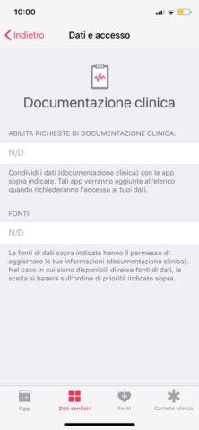 La Documentazione clinica Apple soddisfa il 78% dei pazienti