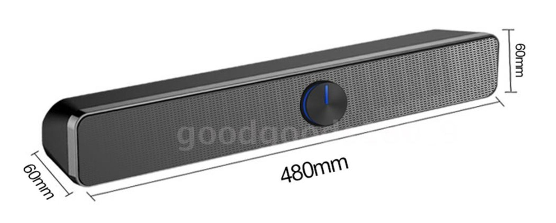 SADA, l'elegante Sound Bar stereo USB super versatile a prezzo appetitoso