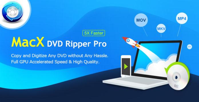 Volete salvare per sempre i vostri DVD? fatelo con MacX DVD Ripper Pro, che vi fa anche un regalo