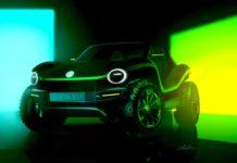 e-buggy concept car