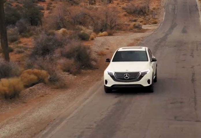 CES 2019, EQC è la prima Mercedes 100% elettrica della famiglia EQ