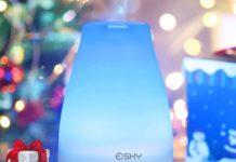 Umidificatore ad ultrasuoni con lampada incorporata in offerta a 13,99 euro