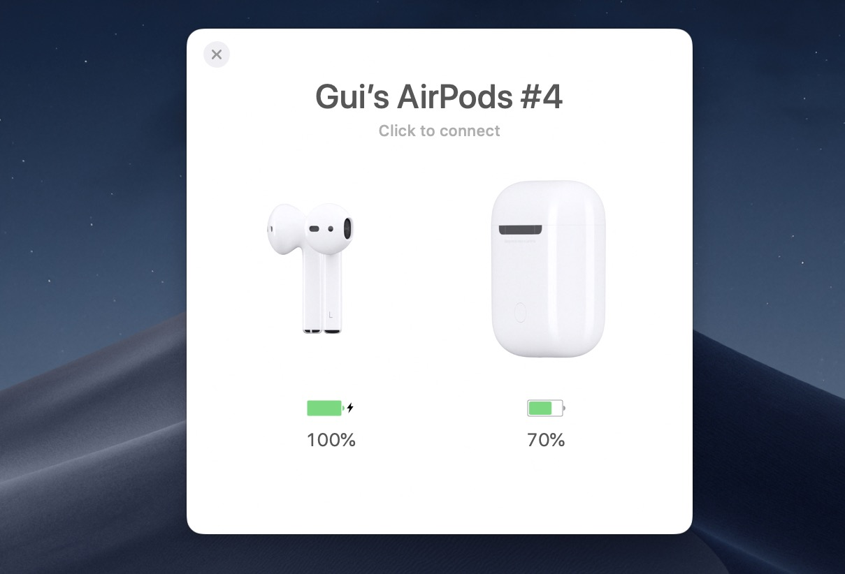 Con AirBuddyle AirPods si usano su Mac come su iOS