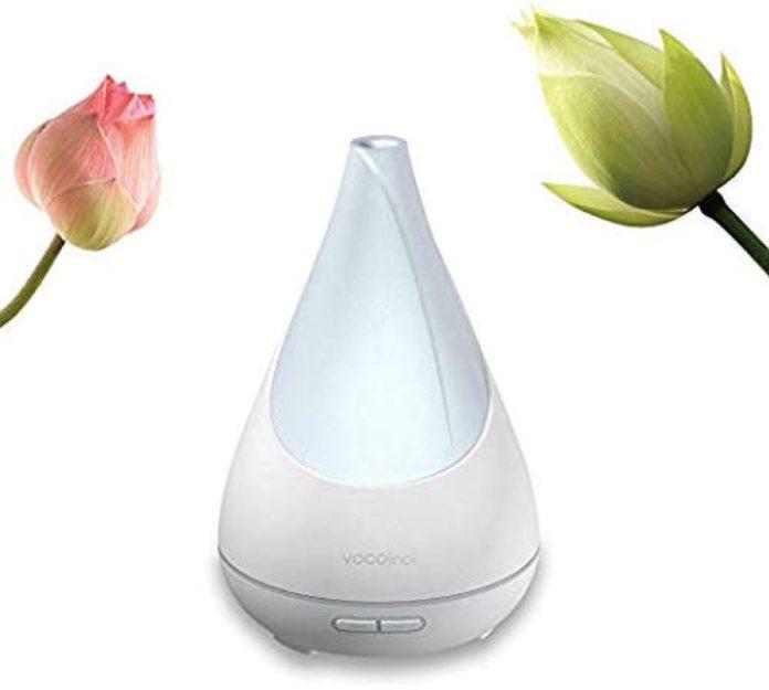Flowerbud, umidificatore e lampada Smart compatibile HomeKit, Alexa e Google