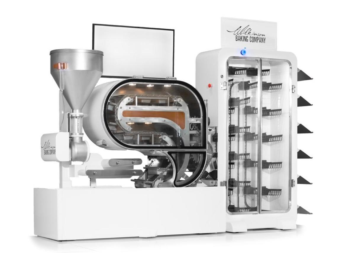 Al CES 2019 Bread Bot, il fornaio robot che fa e vende il pane