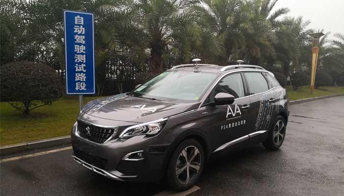Guida autonoma in Cina