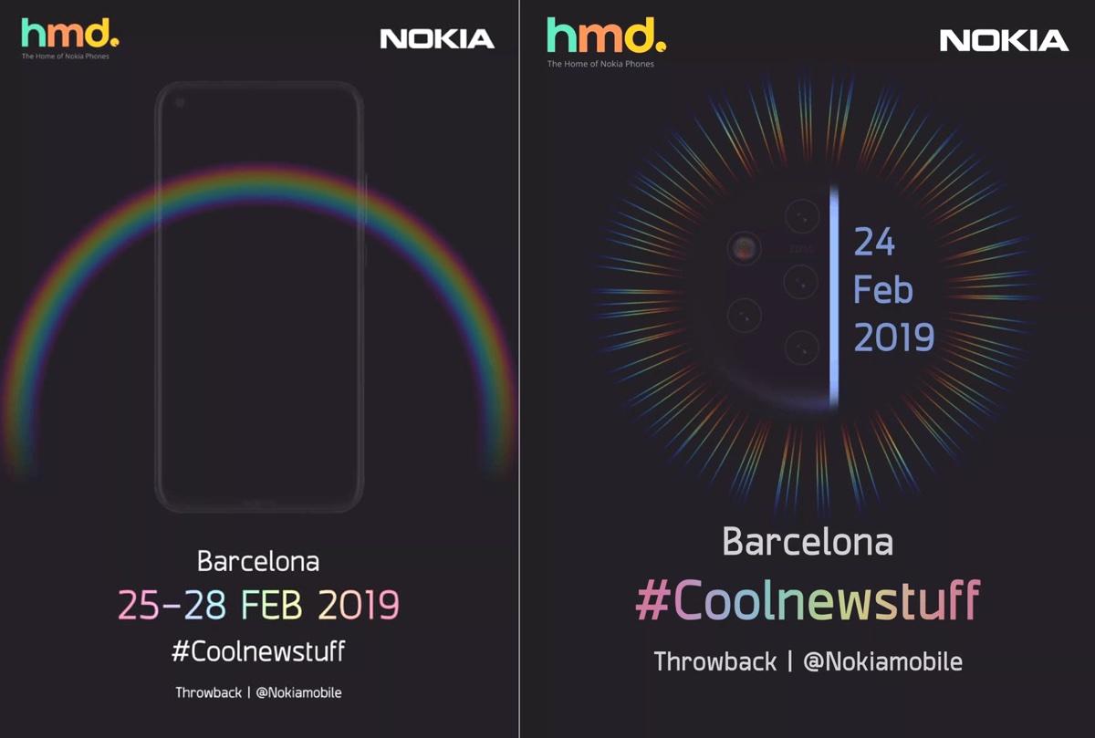Nokia 9 PureView con una cascata di fotocamere sarà svelato a MWC 2019