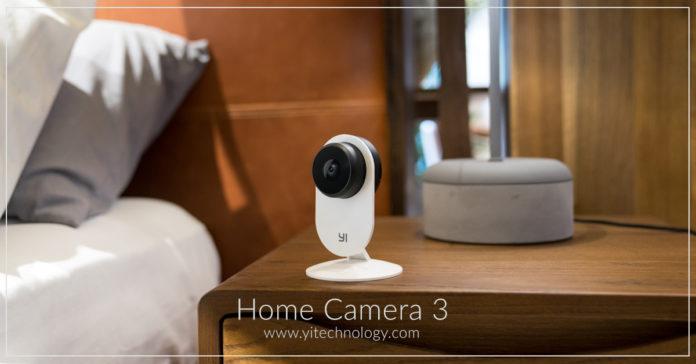 Al CES 2019 YI Home Camera 3, la nuova camera di sicurezza ancor più intelligente