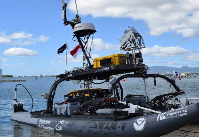 mbarcazione a guida autonoma