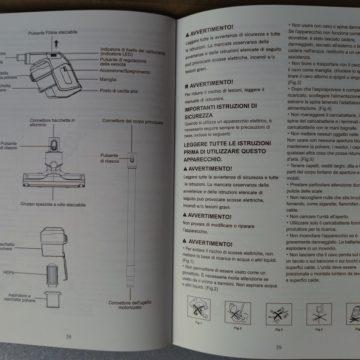 Recensione Aspirapolvere senza fili in stile Dyson Alfawise