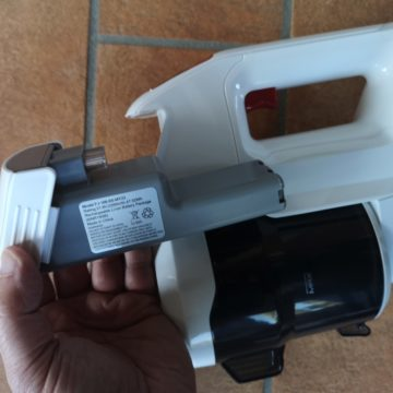 Recensione Aspirapolvere senza fili in stile Dyson Alfawise FJ-166A