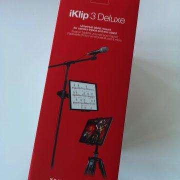IK Multimedia presenta iKlip 3: iPad e tablet non possono avere supporto migliore