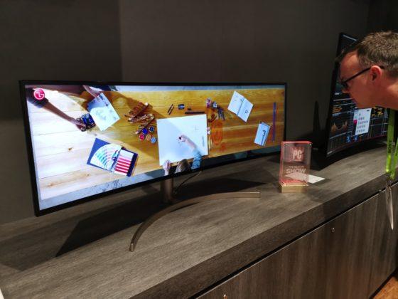 """CES 2019, i nuovi monitor """"Ultra"""" una manna per gaming e produttività"""