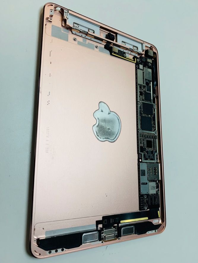 Interno dello chassis dell' iPad mini 5 del 2019