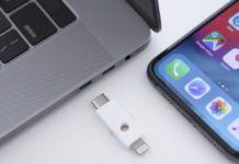 Yubico produce una chiavetta di sicurezza utilizzabile su computer e dispositivi iOS.
