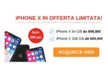 iPhone X in offerta limitata su TrenDevice, solo per i più veloci
