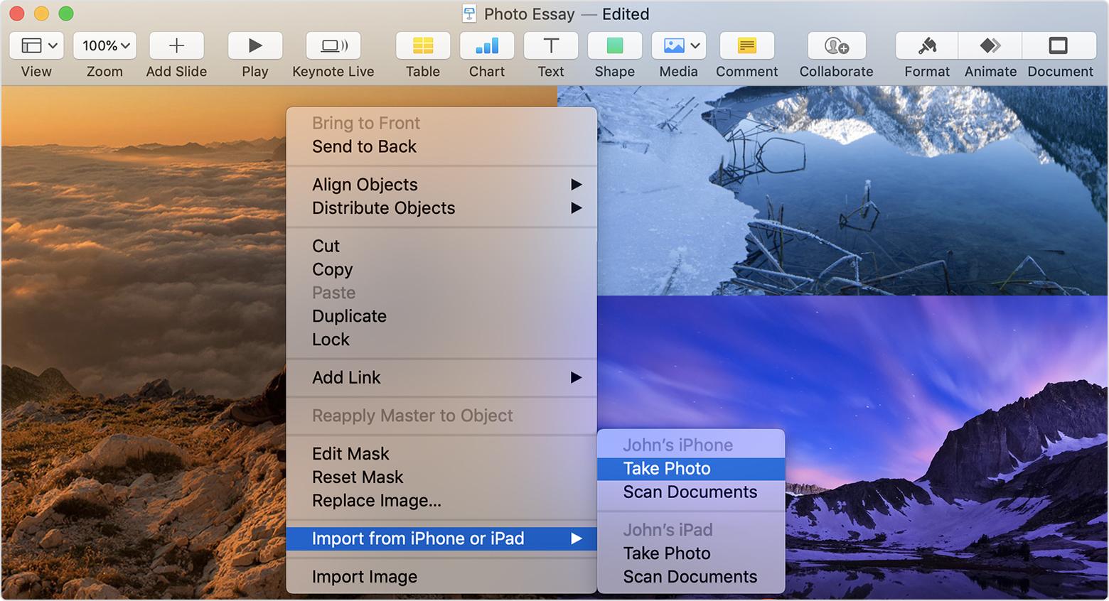Coon gli update di Word e PowerPoint per Mac arriva il supporto di Continuity da iPad e iPhone
