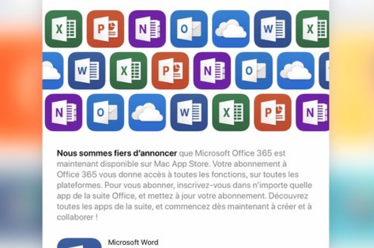 Office 365 ora disponibile sul Mac App Store