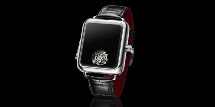 Moser crea l'Apple Watch da 350 mila dollari senza lancette