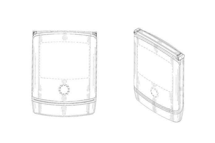 Il nuovo Motorola Razr pieghevole potrebbe essere così