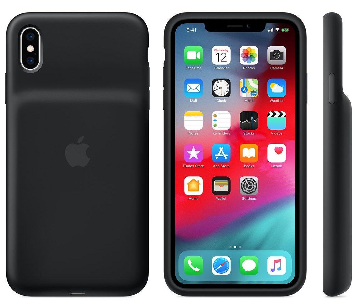 Apple ha presentato la Smart Battery Case per iPhone XS, XS Max e XR