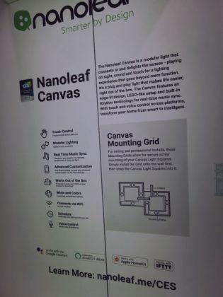 Nanoleaf Canvas, i pannelli luminosi con tecnologia touchscreen al CES 2019