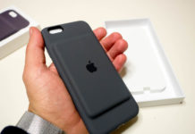 Smart Battery Case per iPhone XS, l'icona è presente su iOS 12.1.2