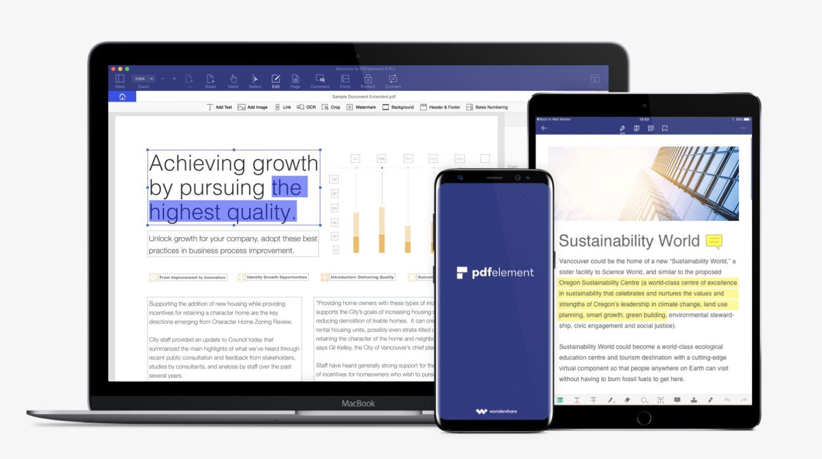 Saldi da PDFelement, suite professionali per gestire i PDF a prezzi super stracciati
