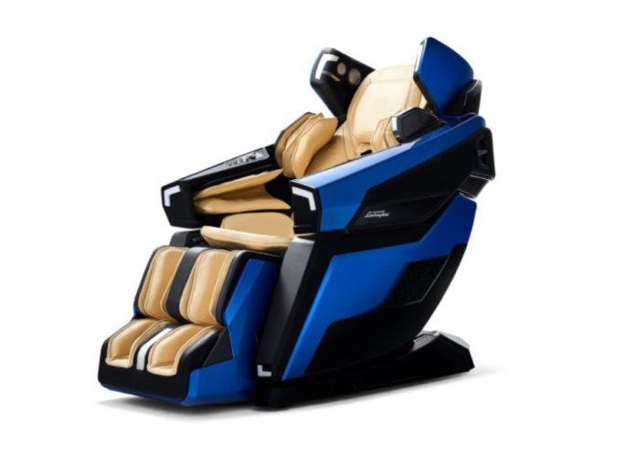 La Lamborghini delle poltrone per massaggi esiste ed è al CES 2019
