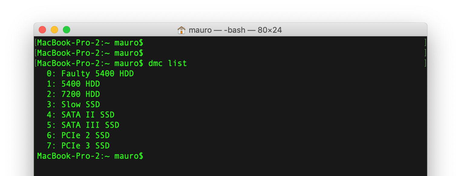 DMC, un comando per… rallentare le unità SSD del Mac