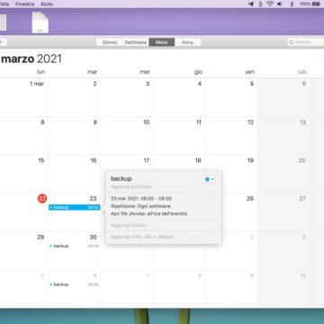 Come programmare il backup di una cartella su Mac con Automator