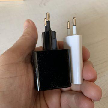 Recensione mini caricabatterie 18W Aukey: quel che serve per ricaricare velocemente un iPhone