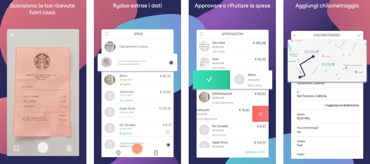 Rydoo, l'app che semplifica la gestione di viaggi e spese aziendali