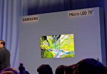 Al CES 2019 Samsung svela gli schermi del futuro con Micro LED