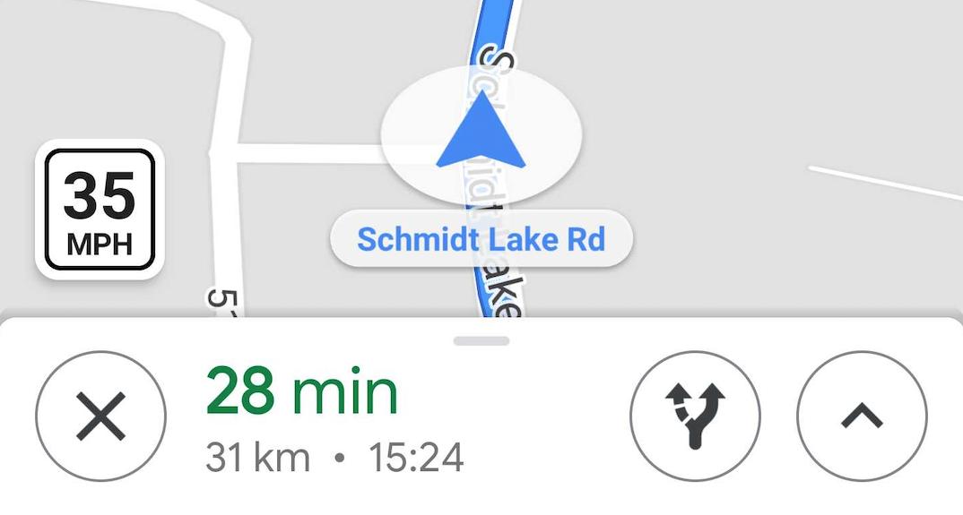 In Google Mappe supporto iniziale per limiti di velocità e autovelox
