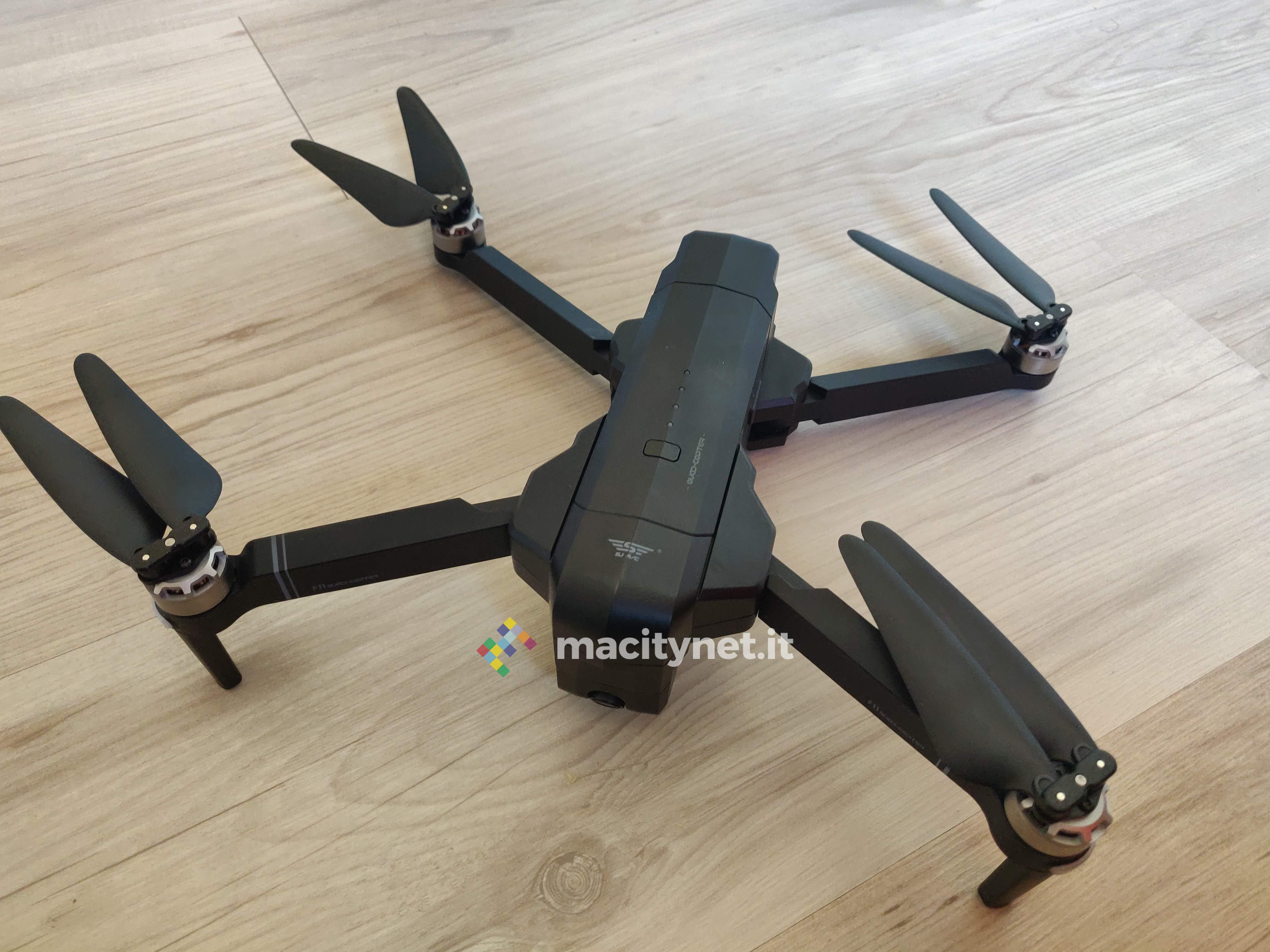 Recensione SJRC F11, il drone pieghevole che si crede un Mavic Pro a un quindi del prezzo
