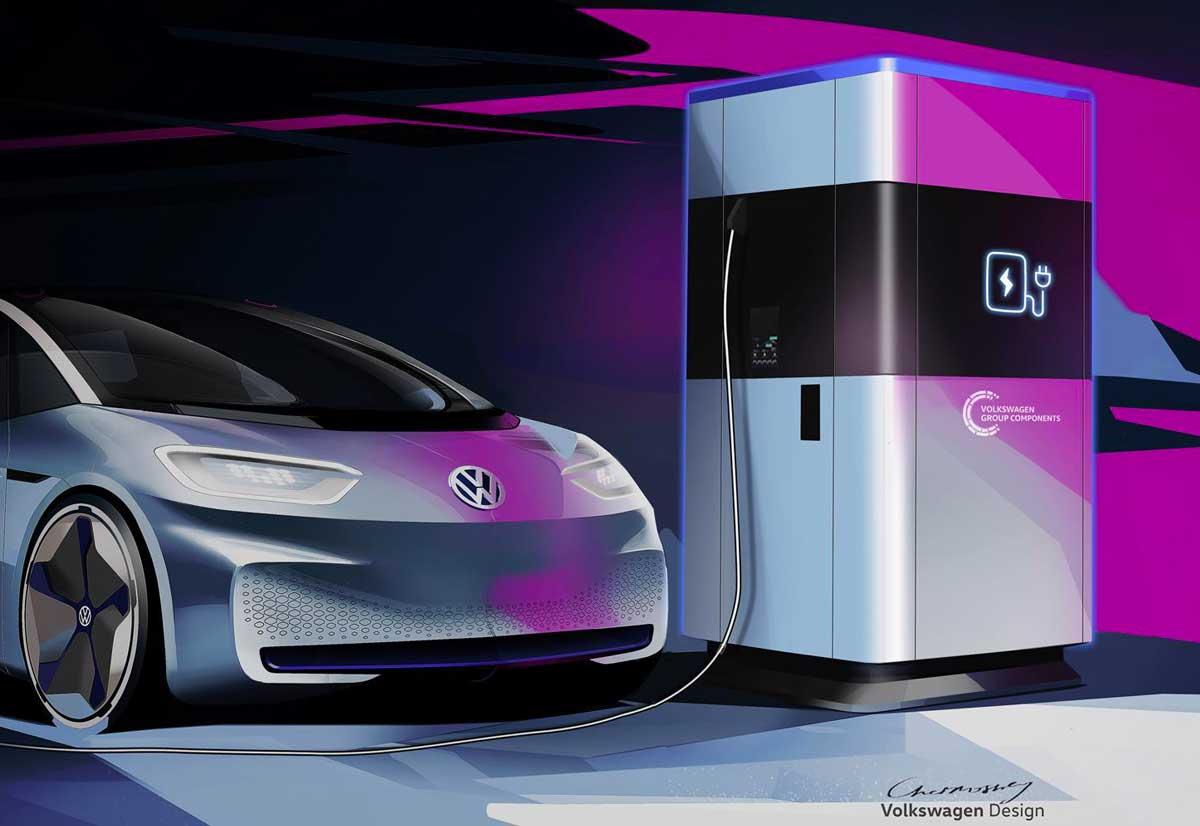 Volkswagen inizier la produzione in serie delle stazioni for Produzione di mobili