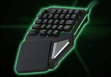 Delux T9 Pro, tastiera a una mano per gaming in offerta a 27,64 euro
