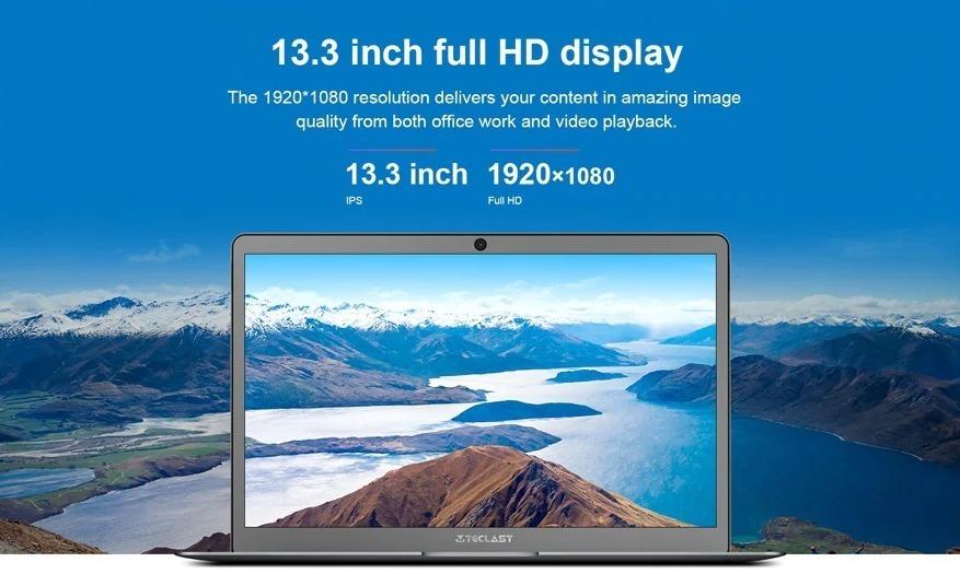 Teclast F6, il notebook con 6 GB di RAM e 128 GB di ROM SSD, leggero ed economico