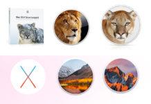 Vecchie versioni OS X