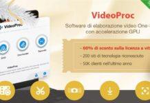 Offerta speciale di VideoProc, in tempo per Natale: 60% di sconto sulla licenza a vita
