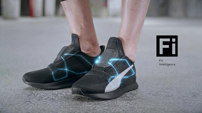 Puma lancia le scarpe da fitness autoallaccianti e conesse ad iPhone 2277c7892bd