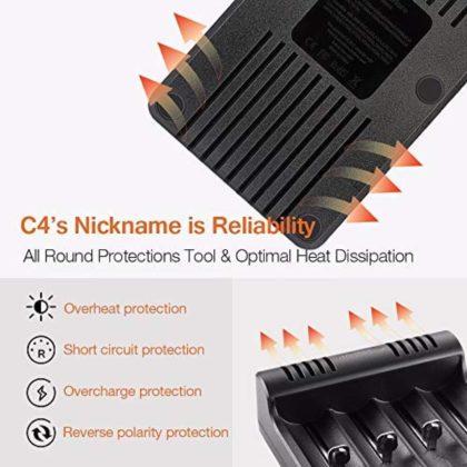 Zanflare C4, il caricabatterie e rigeneratore di pile universale