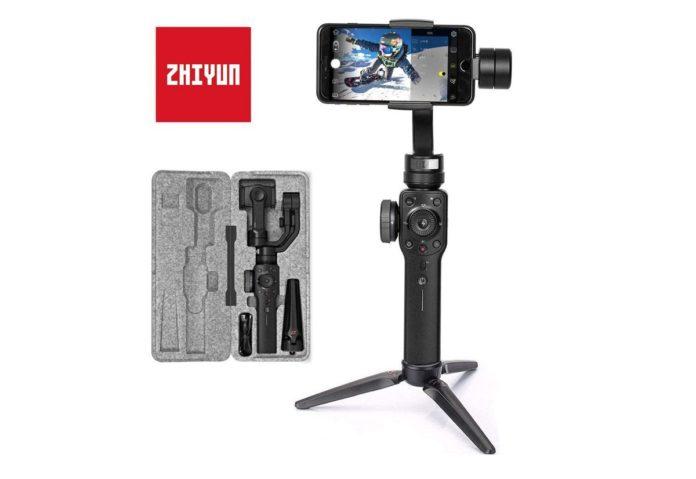 Zhiyun Smooth 4, il gimbal per smartphone con la corona digitale a 109 euro
