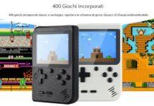 Gocomma, la console stile Game Boy con oltre 400 classici dei videogiochi a 13 euro