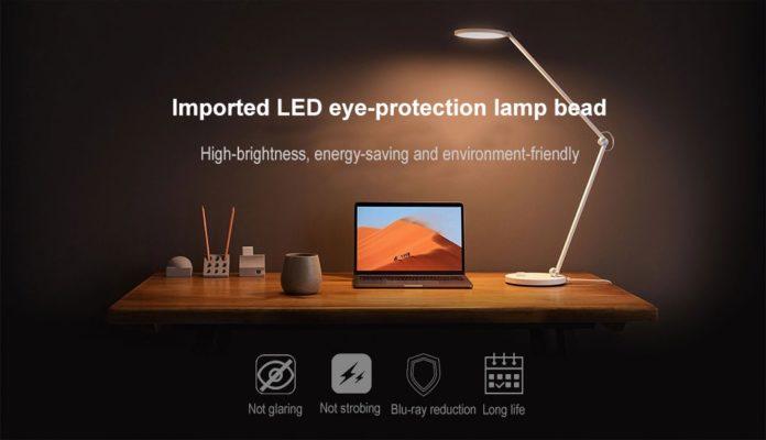 In sconto Xiaomi Mijia, la lampada raffinata che protegge gli occhi