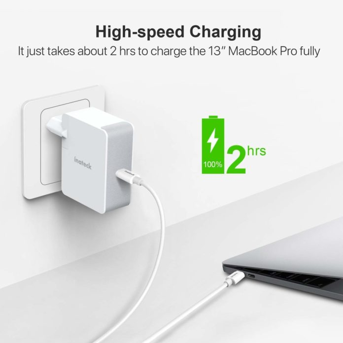 Recensione carica batteria Inateck USB C da 45 W, costa poco ed è funzionale