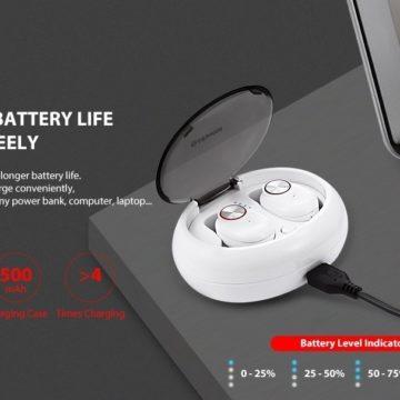 Alfawise TWS Mini, cuffie touch true wireless con Bluetooth 5.0 dal prezzo incredibile
