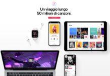 Apple Music permette di regalare un mese gratis agli amici