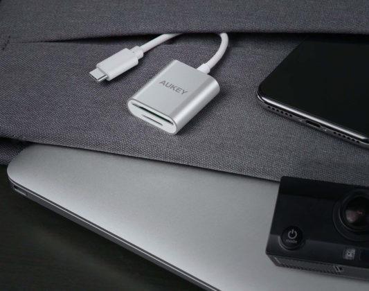 Lettore di schede SD e microSD per dispositivi USB-C